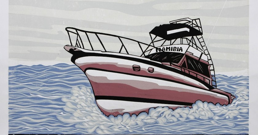 "Kandjengo Lok, ""Namibian Boat Seasons"" 