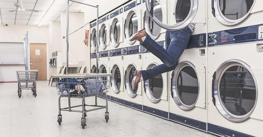 Laundry machines | © RyanMcGuire / Pixabay