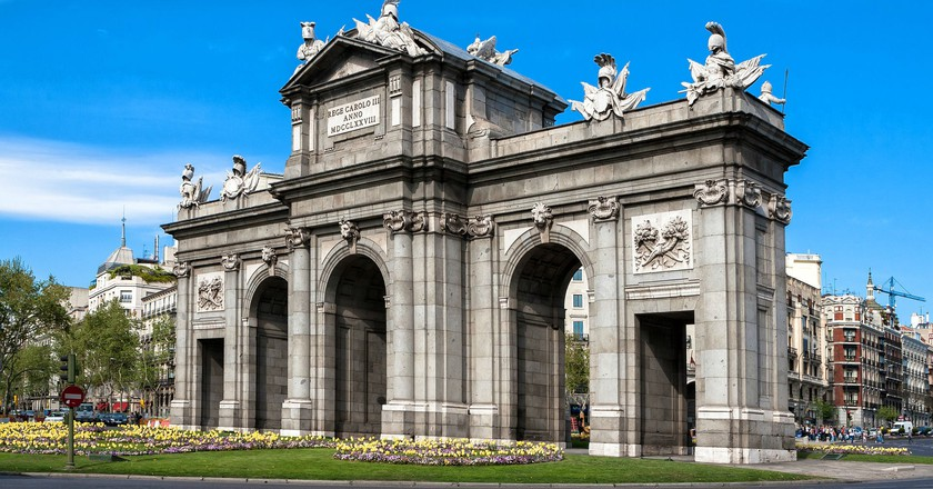 Madrid's Puerta de Alcalá | © juanlufer4 / Pixabay