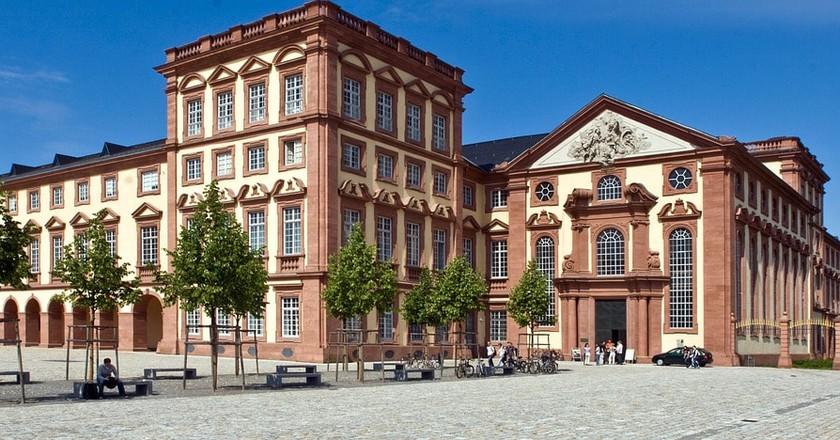 Mannheim Castle   © domeckopol / Pixabay