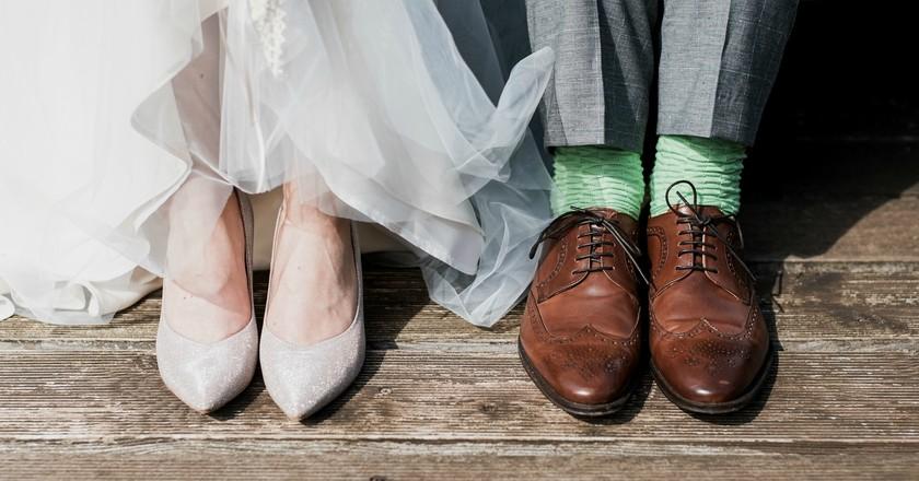 Wedding, feet and shoes | © Marc A. Sporys/Unsplash