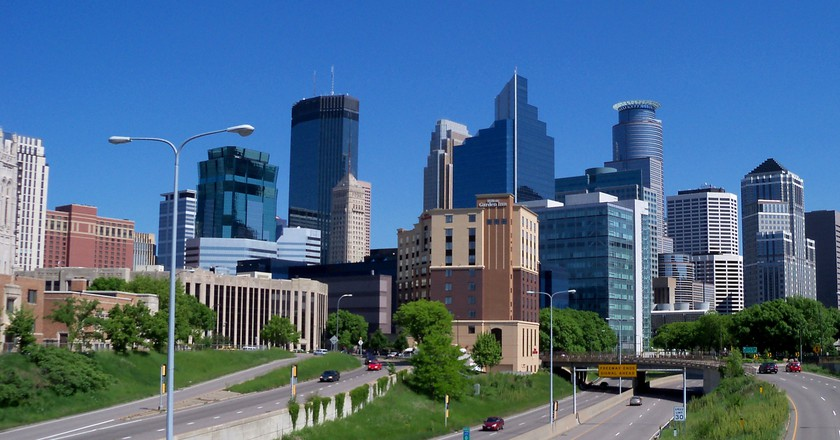 Skyline of Minneapolis, Minnesota | © Alexius Horatius/Wikicommons