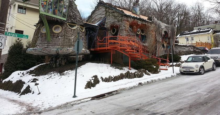 Mushroom House in Cincinnati | © Dave Menninger / WikiCommons
