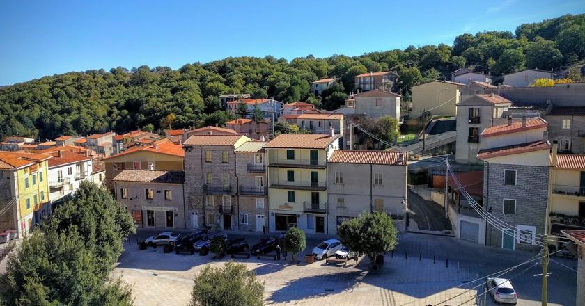 Piazza Marconi in Ollolai   © Courtesy of Comune di Ollolai