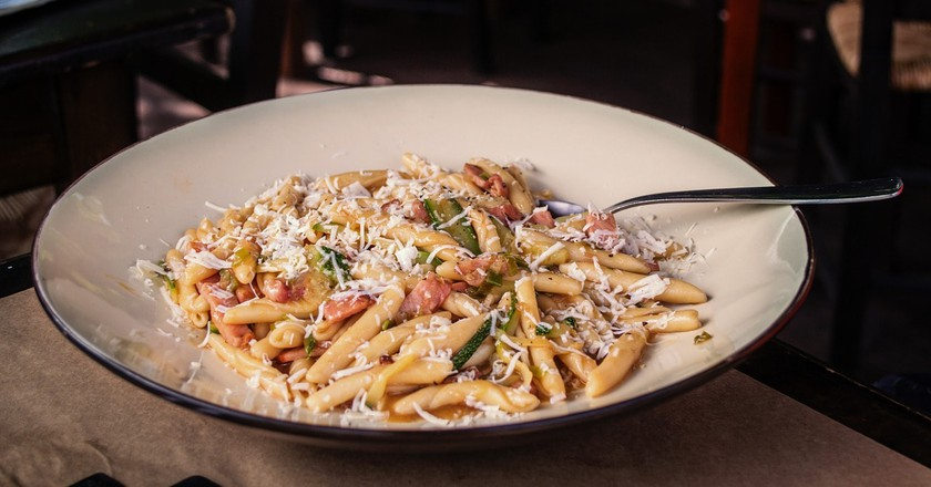 Plate of Cretan pasta, or skioufichta   © greekfood-tamystika/Pixabay