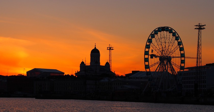 Helsinki at sunset | © Tiina Kaarela / Pexels