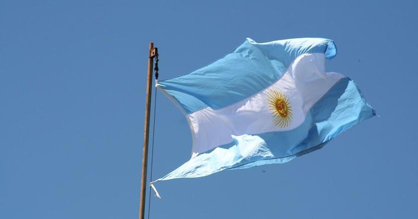 Argentine flag | © Qu1m/Flickr