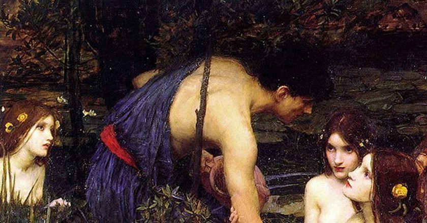 John William Waterhouse, 'Hylas and the Nymphs,' 1896 | ©Universal History Archive/Universal Images Group/REX/Shutterstock