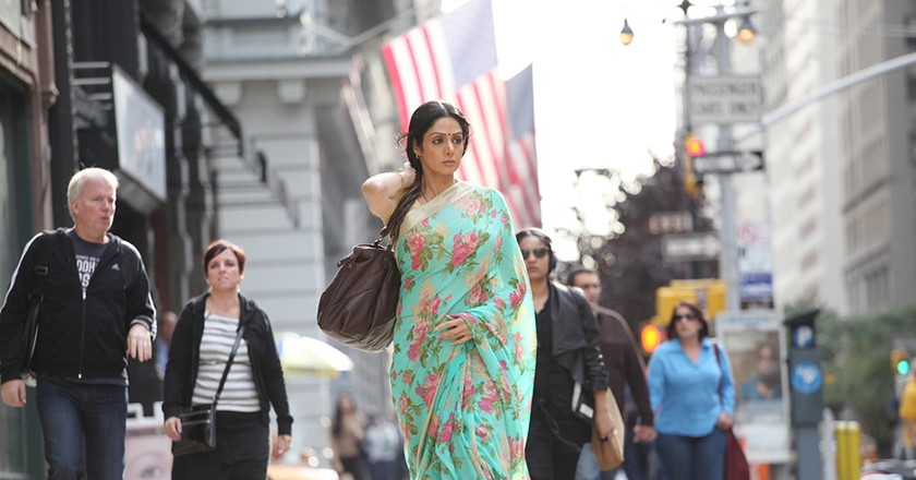 Indian actress, Sridevi, aged 54, died in Dubai after cardiac arrest, media reported on Sunday | © Curbside/Eros International/Hope Prods./Kobal/REX/Shutterstock