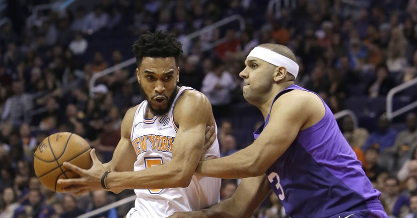 New York Knicks guard Courtney Lee | © Rick Scuteri/AP/REX/Shutterstock