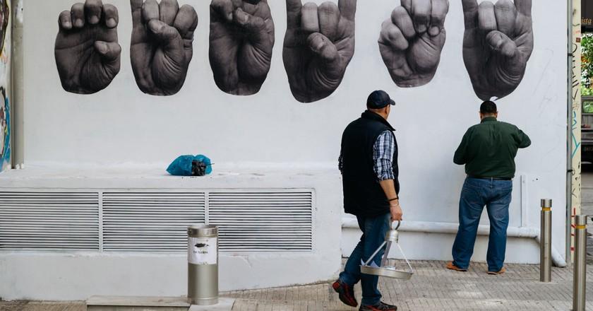 Visual arts scene in Athens
