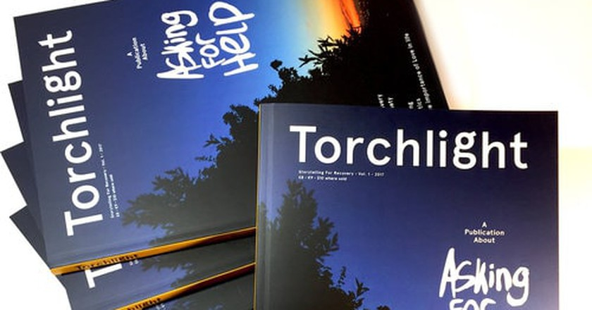 Torchlight the Publication About Mental Health | © Kevin Braddock/ Courtesy of Torchlight & Kevin Braddock