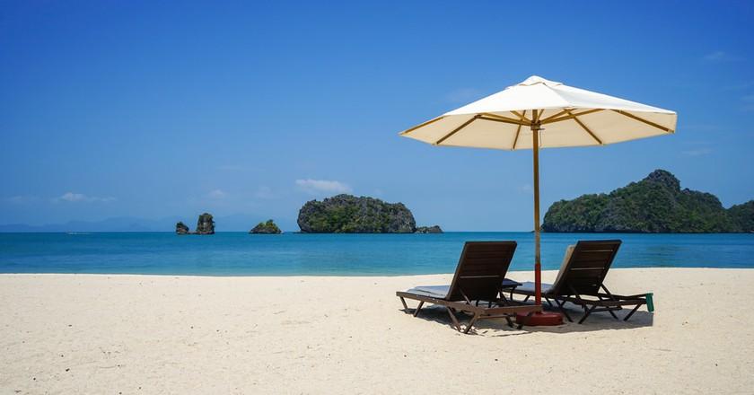 Beach in Tanjung Rhu | © Alan Tan Photography/Shutterstock