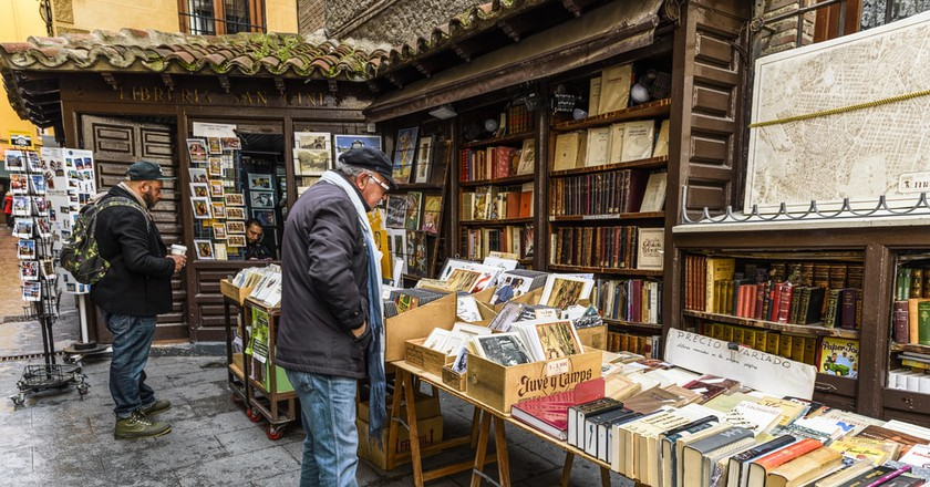 Famous traditional book store in the old district of Madrid, Spain | © ventdusud/Shutterstock