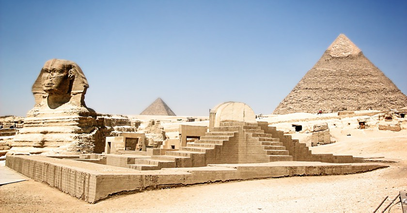 Sphinx and the Pyramids of Giza | © Cezzare/Pixabay