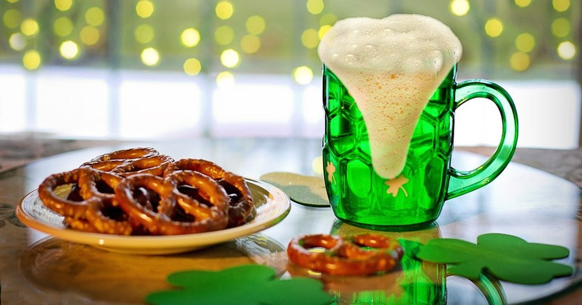 St. Patrick's Day beer and pretzels | © jill111 / Pixabay