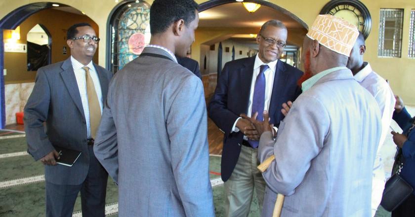 The AU Special Representative for Somalia talks with Somalis in Minnesota   © AMISOM Public Information/Flickr