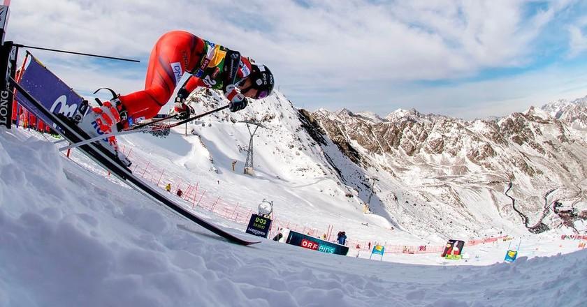 The Norwegian Alpine ski team's slogan is Attacking Vikings | Courtesy of Alpinlandslaget