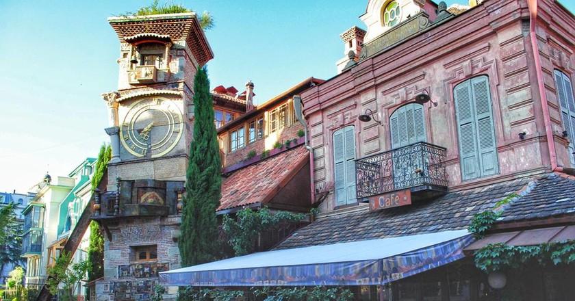 Tbilisi's clock tower | © Culture Trip / Baia Dzagnidze
