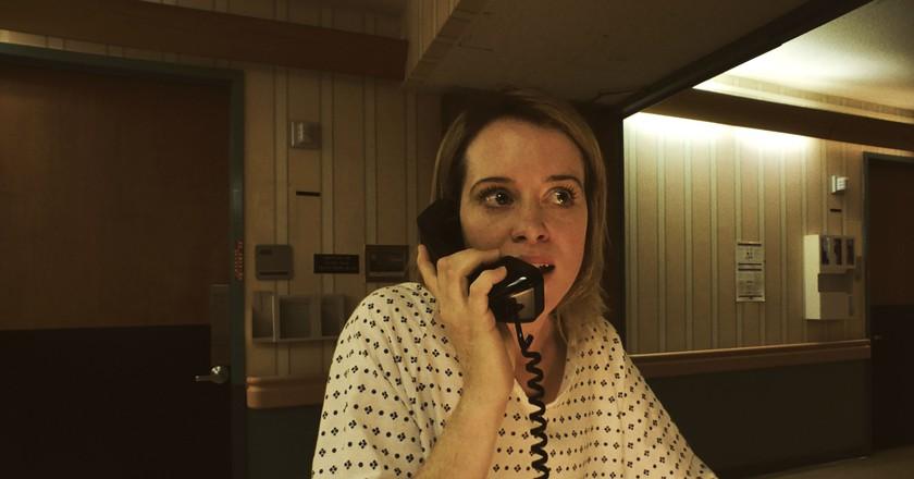 Claire Foy stars as Sawyer Valentini in Steven Soderbergh's UNSANE | © Fingerprint Releasing / Bleecker Street