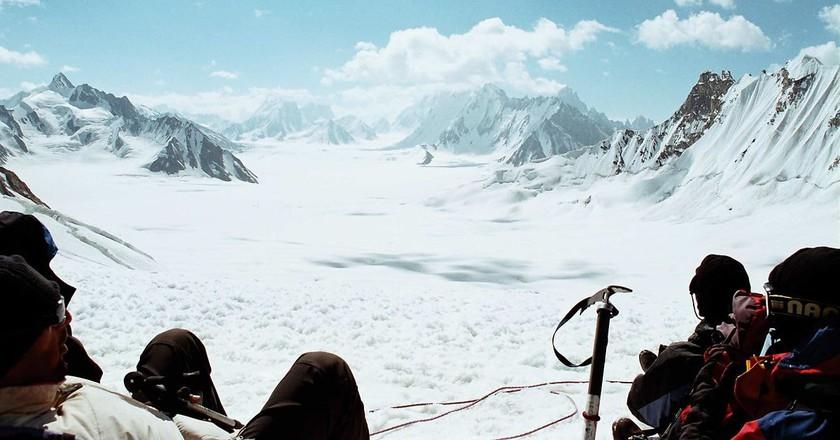 On the way to Hispar La, Hispar Trek Pakistan   © Castral/WikiCommons