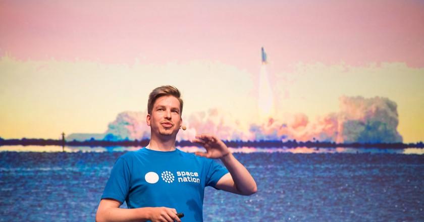 Kalle Vähä-Jaakkola, co-founder of Space Nation | © Space Nation