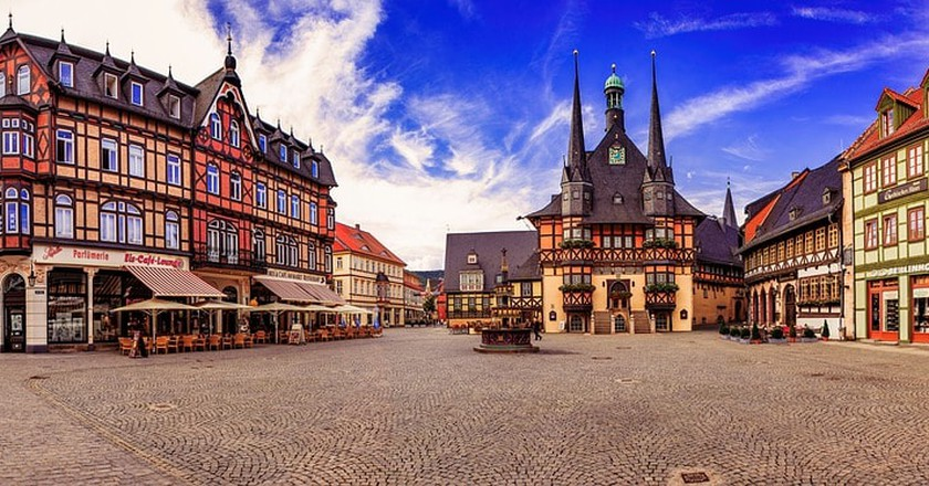Wernigerode market square   © andreaswdnr26 / Pixabay