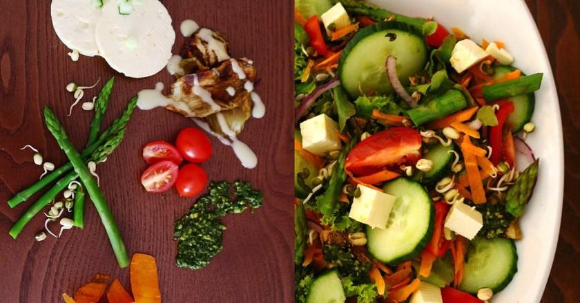 Wilde Eend veg salad | Courtesy of Wilde Eend