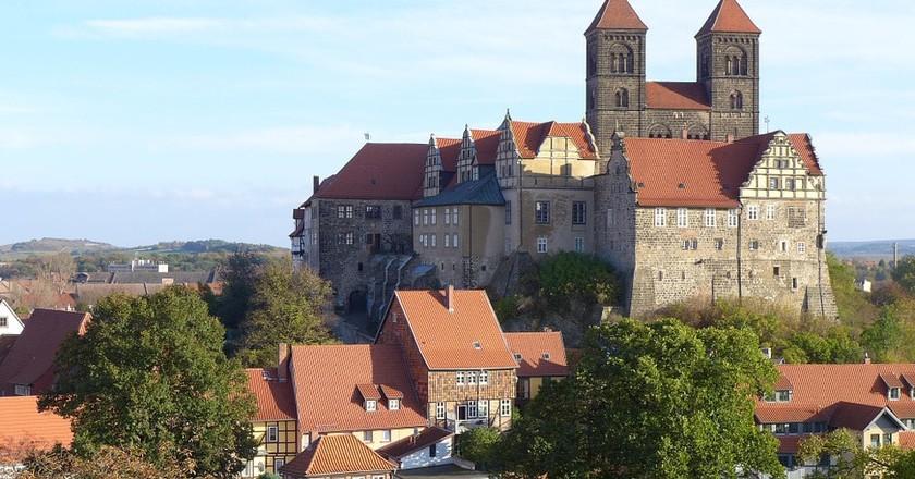 Quedlinburg Castle | © rikkerst / Pixabay