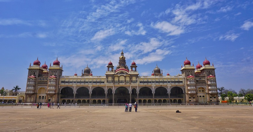 Mysore Palace is the most iconic and the most visited historical structure in Mysore
