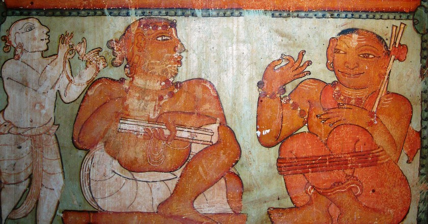 Thodikulam Shiva Temple in Kannur is a gallery of ancient mural paintings