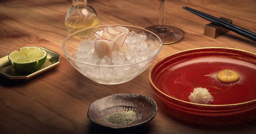A beautifully put together dish at Frantzén in Stockholm | © Frantzén