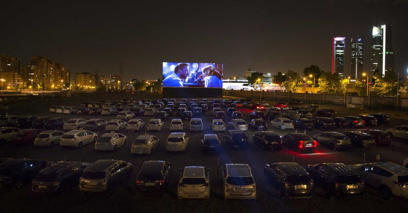 Autocine Madrid RACE is the biggest drive-in cinema in Europe