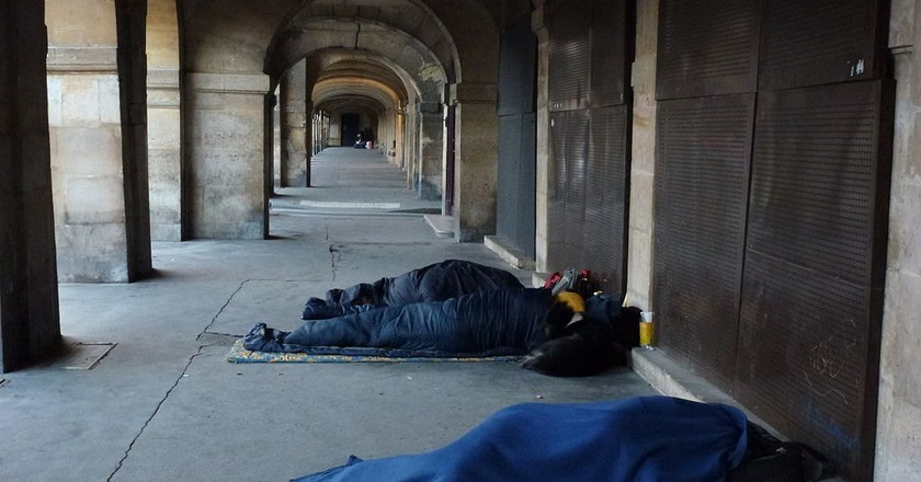 The homeless population in Paris |© Havang / WikiCommons