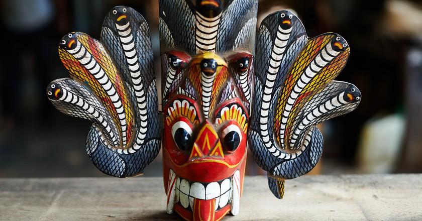 Colourful Naga Raksha