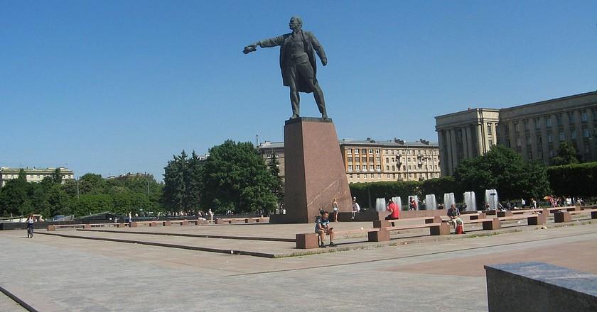 Lenin Statue on Moskovskaya Square | © Wikimedia Commons