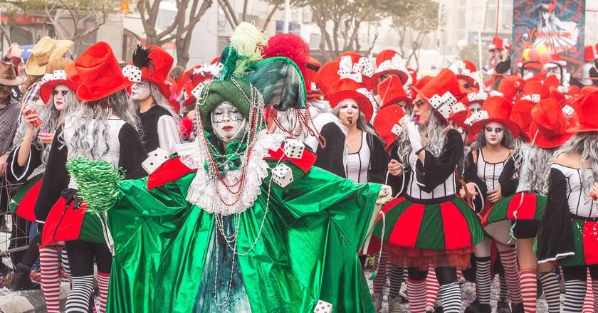 An annual festival in Limassol 2014, Cyprus