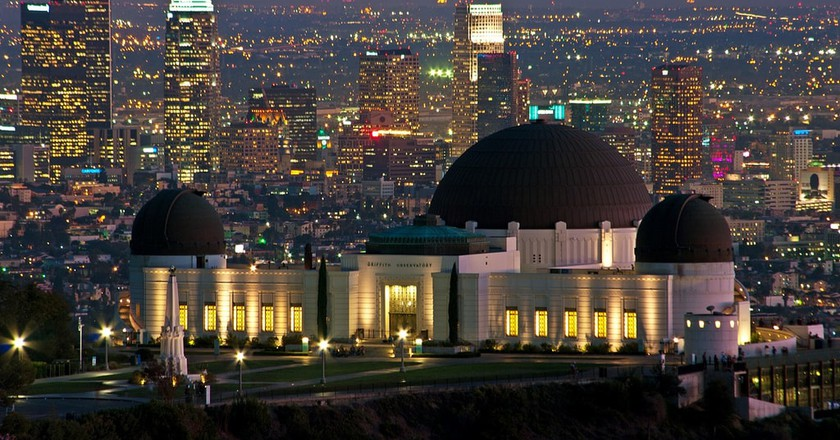 Griffith Observatory in Los Angeles.