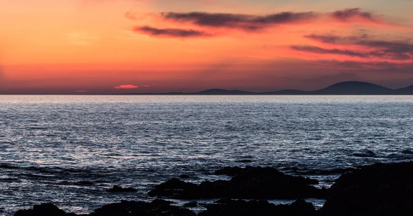 Uruguay sunset