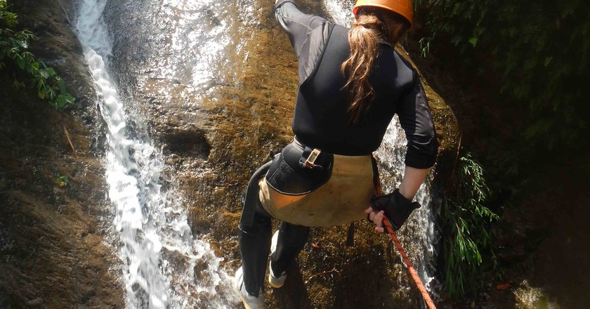 Canyoning at The Last Resort