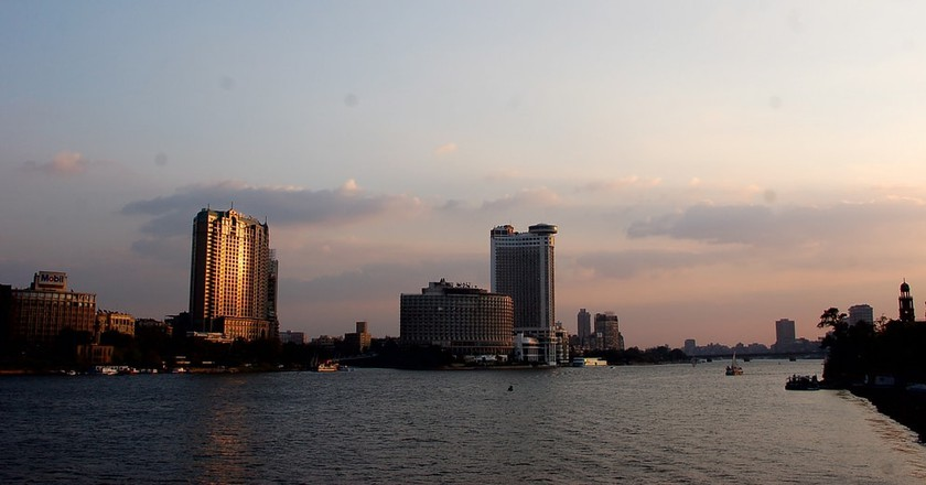 Cairo's Nile view