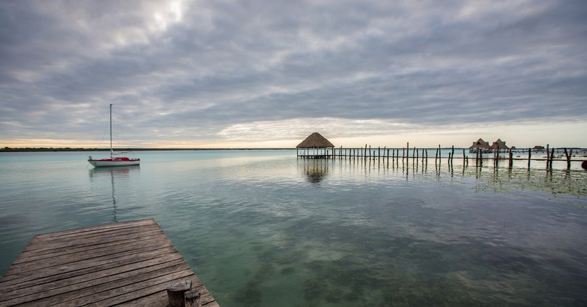 View of Lake Bacalar