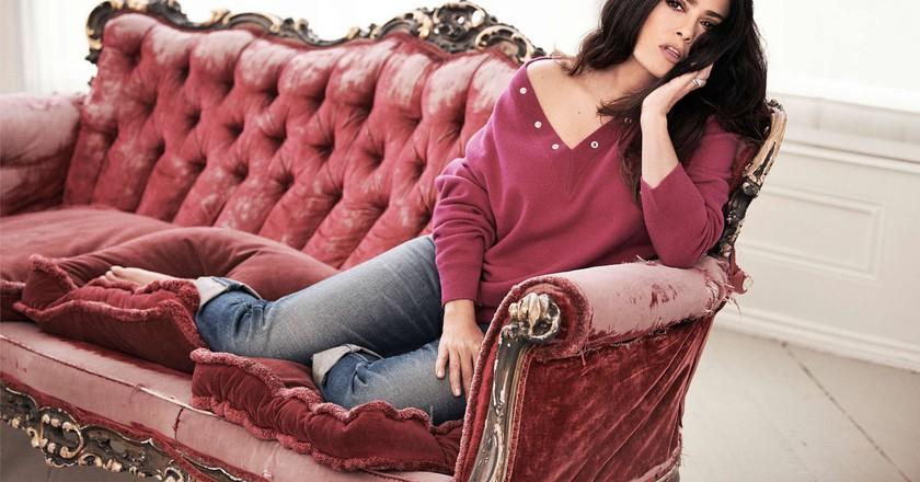 Salma Hayek for Elle France