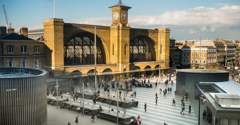King's Cross Station in the evening sun | © Dave Collier / Flickr
