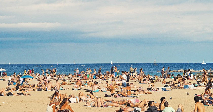 Barceloneta beach | © S S / Flickr