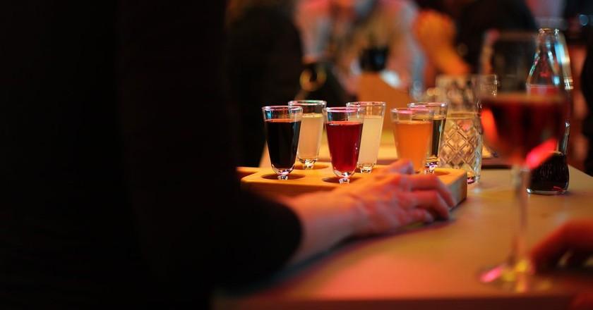 A serving of homemade vodkas | © Bar Zaliv
