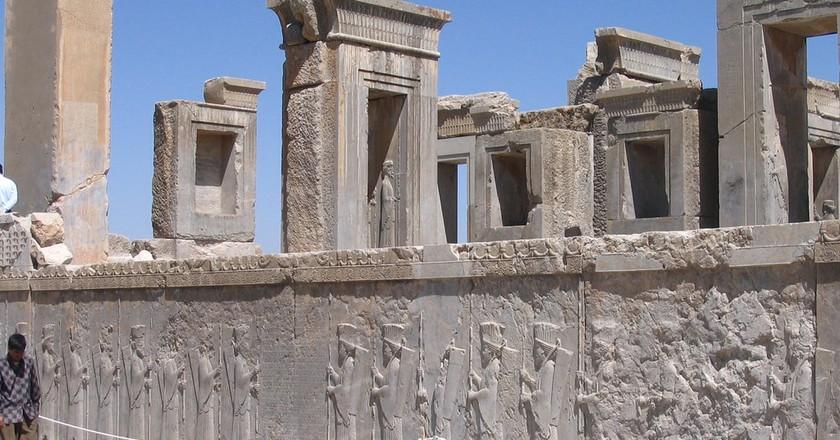 The ancient Persian city of Persepolis