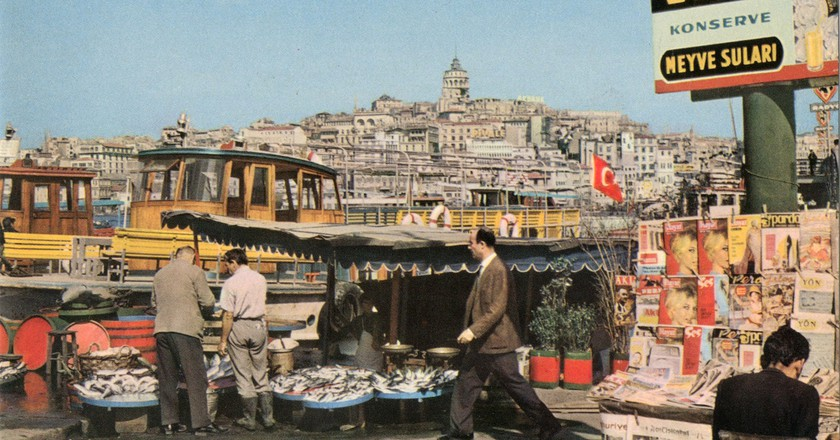 Eminönü in 1964