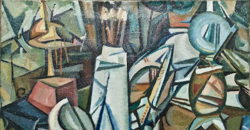 Still-Life of the objects (1913) - Amadeo de Souza-Cardoso (1897-2018)