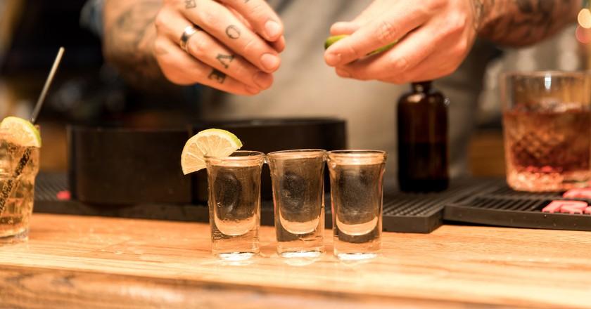 Tequila shots ( via https://quotecatalog.com/ )